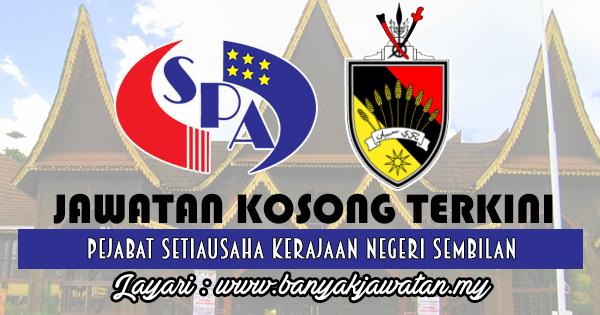 Jawatan Kosong 2017 di Pejabat Setiausaha Kerajaan Negeri Sembilan