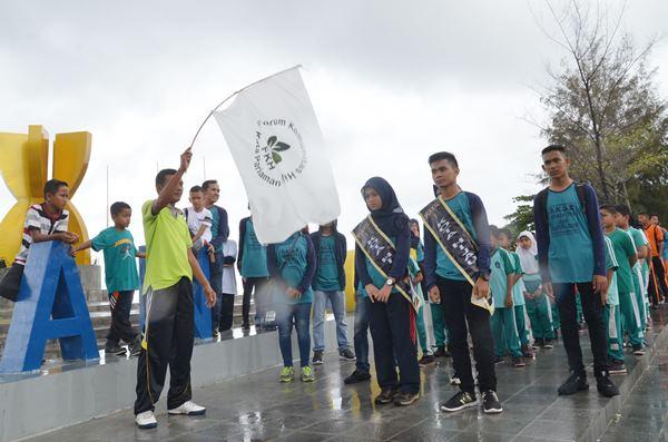 FKH Kota Pariaman Sosialisasikan Budaya Jalan Sehat