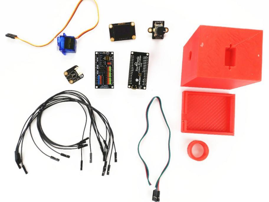 FireBeetle Board-ESP32 Tutorials: Reforming a Small electric Fan
