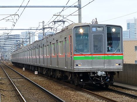 【あと1日!】千葉NT9000形のエアポート急行 羽田空港行き(2017.3引退)