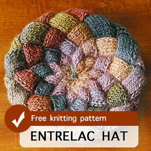 Entrelac Hat Pattern