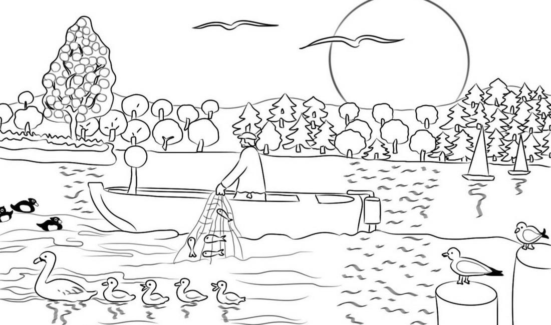 Dibujos Faciles De Paisajes Shamaoutlet Top