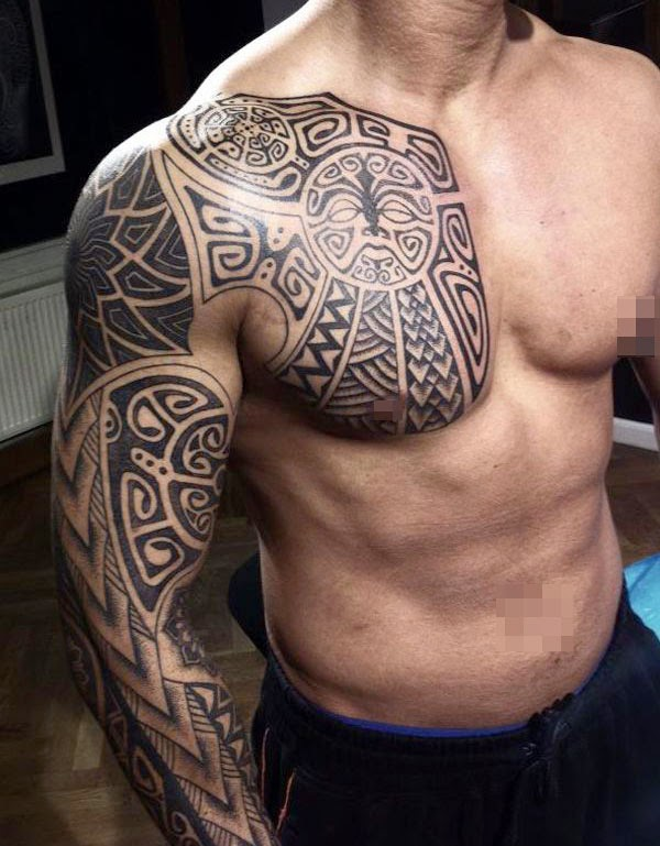 tribal tattoo design ideas for men