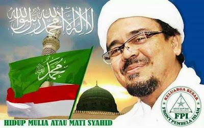 Biovrafi Habib Rizieq Syihab - Izbio