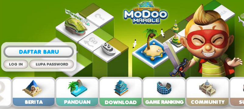 Install Monopoly Online Modoo Marble