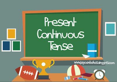 Materi dan Soal Bahasa Inggris Present Continuous Tense Kelas 7 SMP
