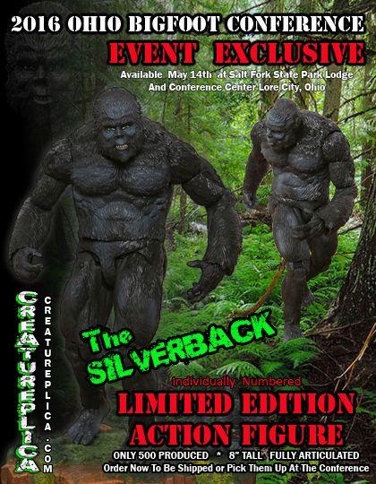 Creatureplica Silverback Figure