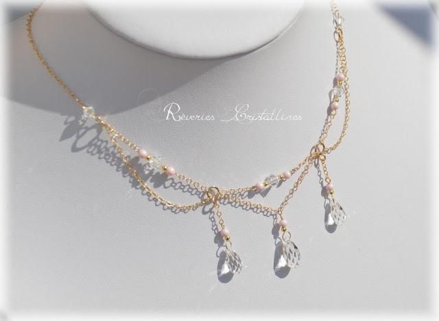 collier romantique et féerique mariage