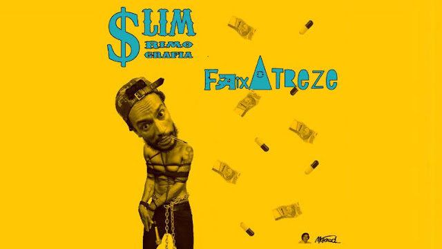 """Slim Rimografia lança a inédita """"Faixa treze"""""""