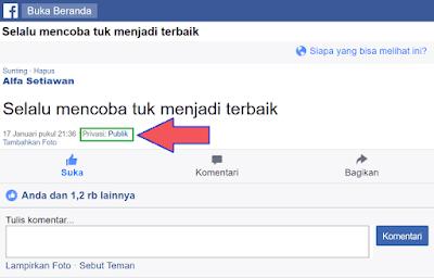 Privasi Publik di mbasic facebook
