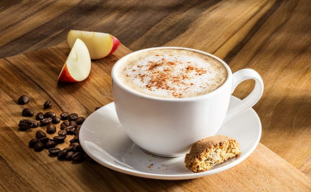 olive garden welcomes the fall with the new caramel apple butter latte also pumpkin cheesecake has found its way back on the menu - Olive Garden Pumpkin Cheesecake