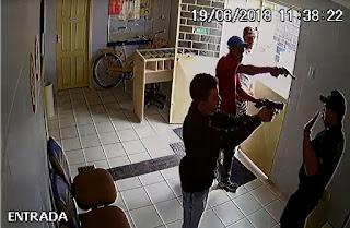 Divulgadas imagens do assalto aos correios de Nova Palmeira