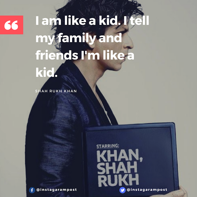 inspirational quote by SRK