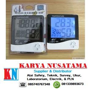 Jual Alat Kelembaban Suhu Ruangan Alarm Clock HTC-1 Digital LCD di Pekanbaru