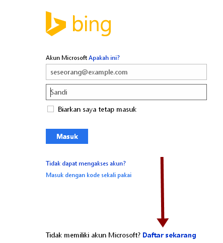 Cara Daftar/ Verifikasi,Submit Blog Di Bing Webmaster