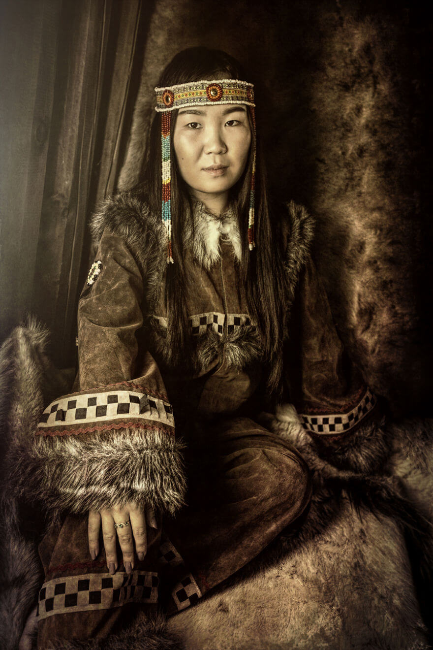 He Traveled 25000 Km In Siberia To Capture The Beauty Of Its Indigenous People With His Camera. The Pictures Are Breathtaking! - Chukcha Girl