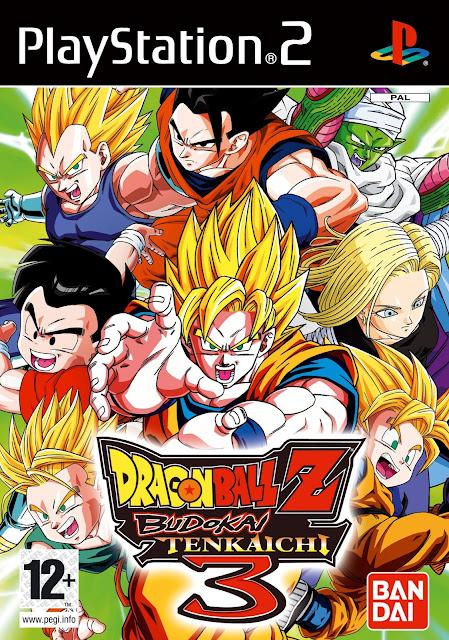 Ultra-Rom Dragon Ball Z Budokai Tenkaichi 3 - Cover / Capa