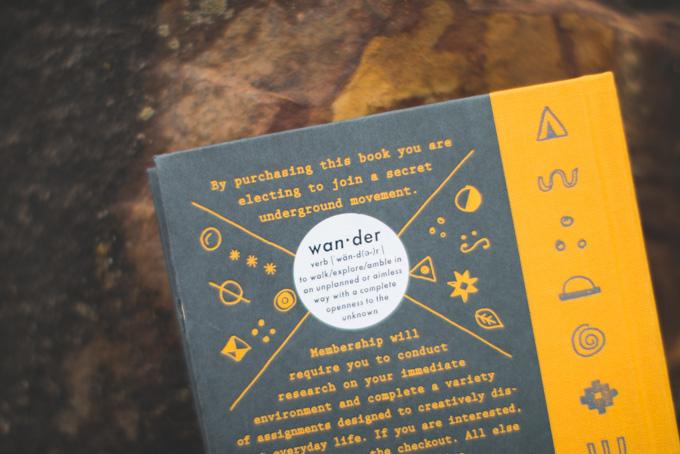 wander society, book review, keri smith