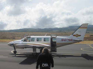 Departure For Volcano Tour.