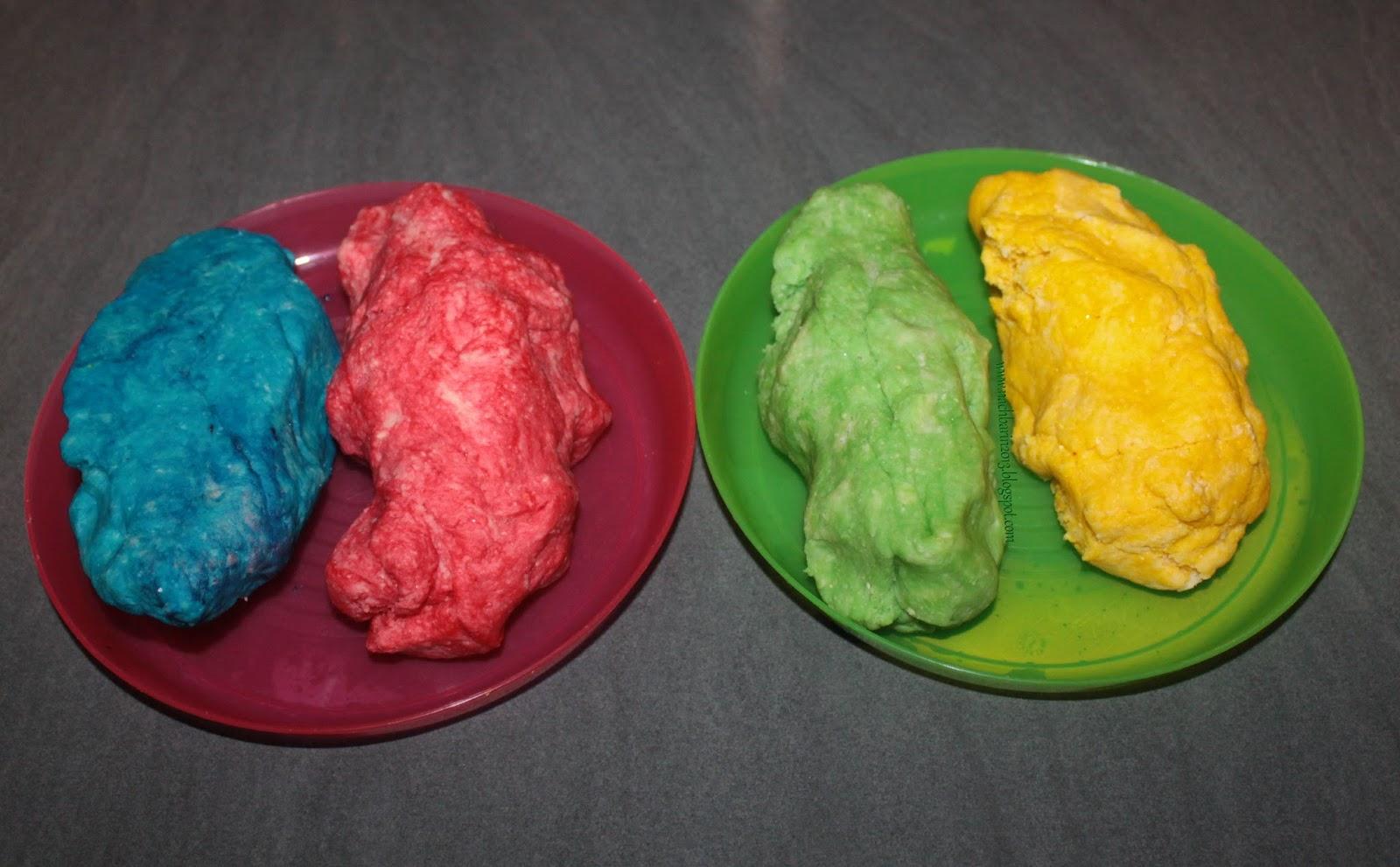 Wunderbar Knete Rezept Ideen Von Die Richtige Farbbrillianz Kommt Erst Nach Dem