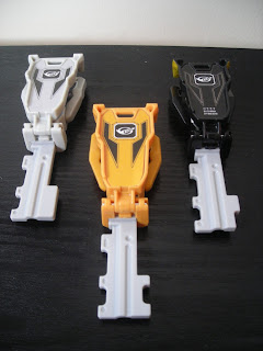 Go-Busters Ranger Key Set 2 Flipped