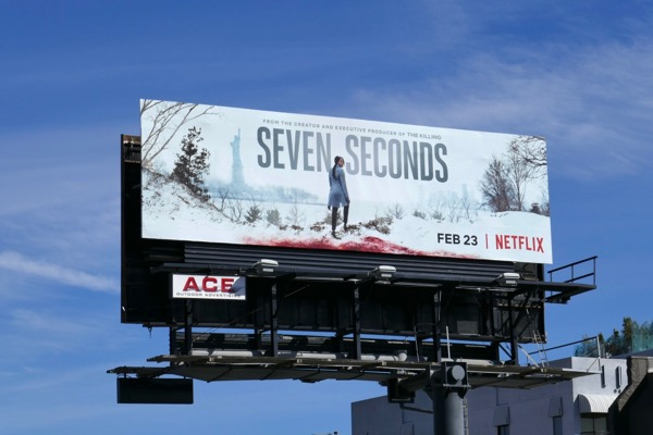 Seven Seconds series premiere billboard