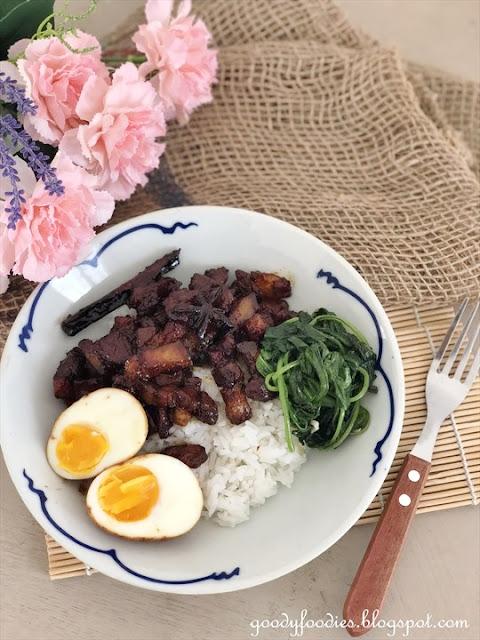 Lu Rou Fan 滷肉饭