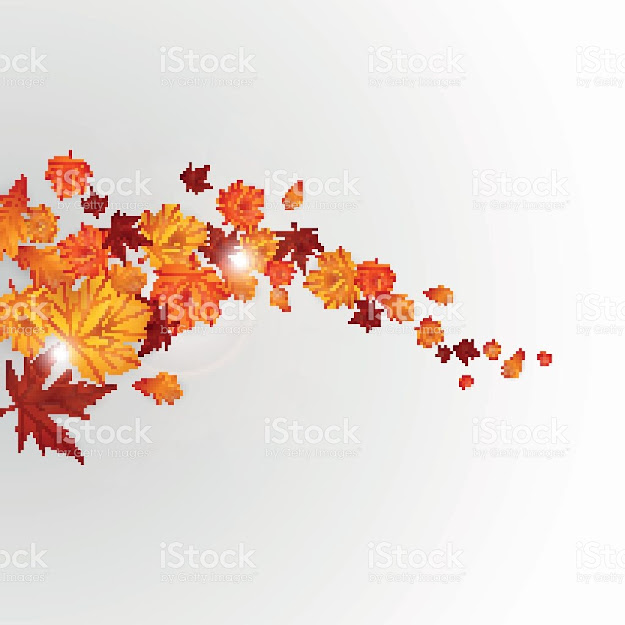 Autumn Vector Background With Maple Leaves Royaltyfree Stock Vector Art