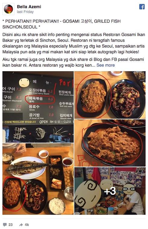 Restoran Korea: Keadaan Betul-betul Darurat Baru Boleh Guna Rukhsah – Ustaz Syed Kadir