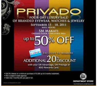 86063d2f86190c ... of their new triple chocolate roll on September 14  Don t fail to check  out the PRIVADO Luxury SALE at the Ground Floor