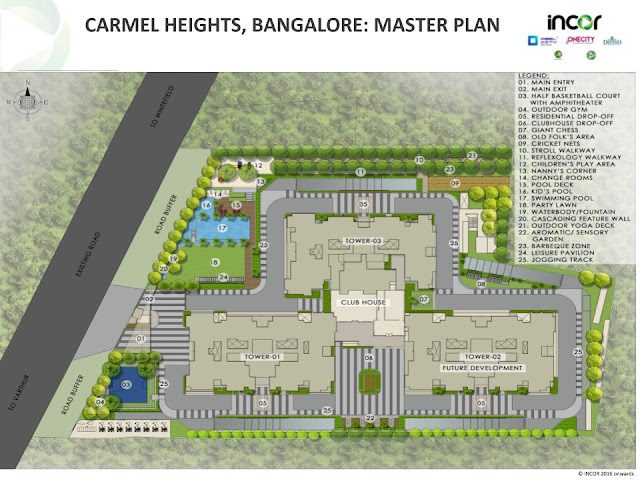 Incor Carmel Heights Master Plan