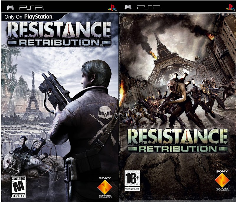 Resistance Retribution Android PSP iso+cso Game Free Download (PSP+PPSSPP)