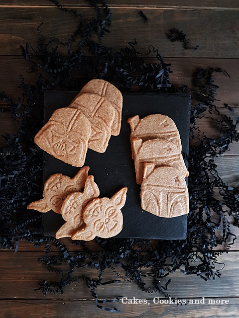 Star Wars Ginger Cookies