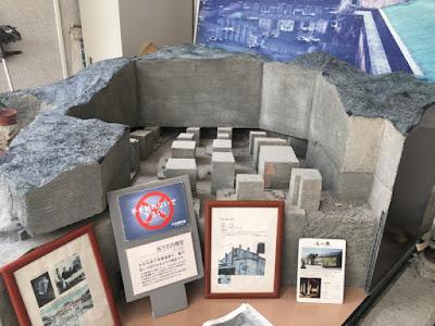 大谷資料館 坑内模型