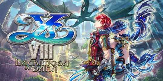 Actu Jeux Vidéo, J-RPG, Playstation 4, Trailer, Ys VIII: Lacrimosa of Dana, Playstation Vita,