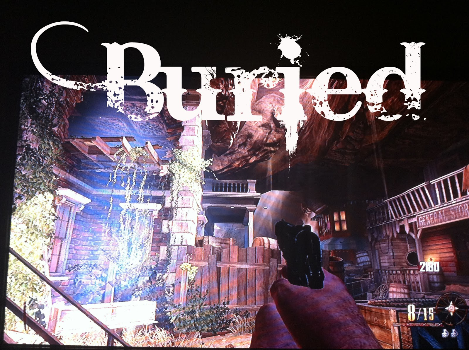 Lets Play Call of Duty Black Ops 2: New COD 2 Buried Zombies