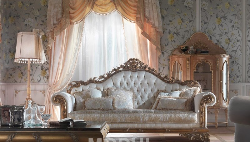 Italian Classic Furniture Living Room Good Color Schemes Gold Sofa For The From Italy Fratelli Allievi