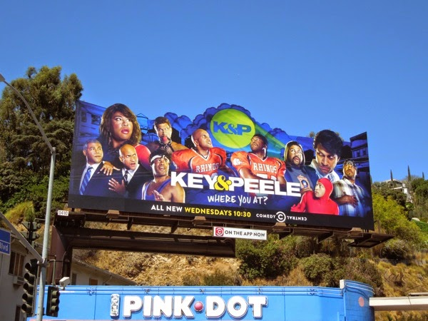 Key & Peele season 4 special extension billboard