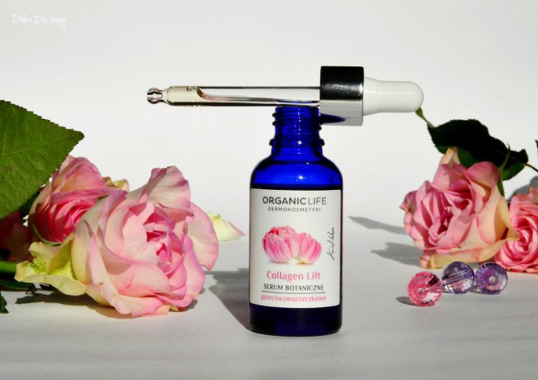 Organic Life Serum Botaniczne przeciwzmarszczkowe Collagen Lift recenzja