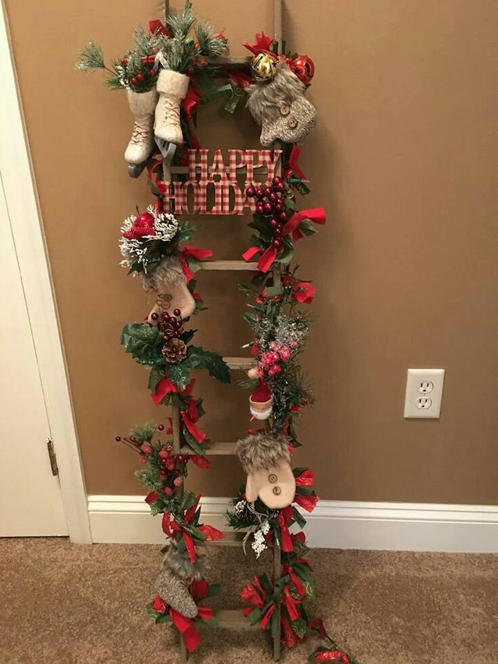 Colecci n de gifs manualidades escaleras decoradas - Escaleras decoradas en navidad ...