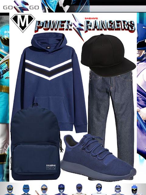 Power Ranger disneybound tenue