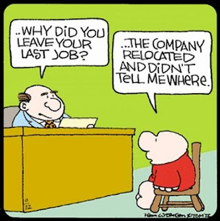 funny jobcentre interview cartoon joke picture