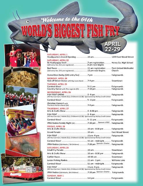 Paris Landing Tourism League World S Biggest Fish Fry