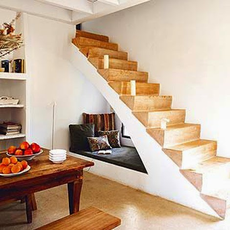 Aprovechar el hueco de las escaleras