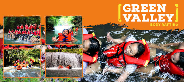 paket body rafting Green Valley