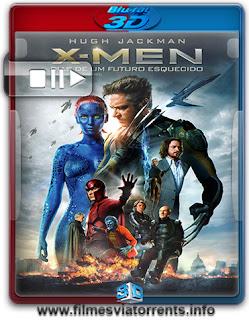 X-Men: Dias de um Futuro Esquecido Torrent - BluRay Full HD 1080p 3D HSBS Dual Áudio 5.1 (2014)