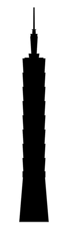 skyscraper-silhouette-vector-free-art-download-siluetas-los-10-rascacielos-mas-altos-del-mundo-gratis-skyline-taipei-101-taiwan-china
