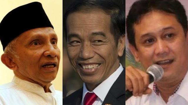 Denny Siregar: Kalau Saya Jadi Jokowi, Akan Temui Amien Rais di Rumahnya Agar Mendapat 2 Kemenangan