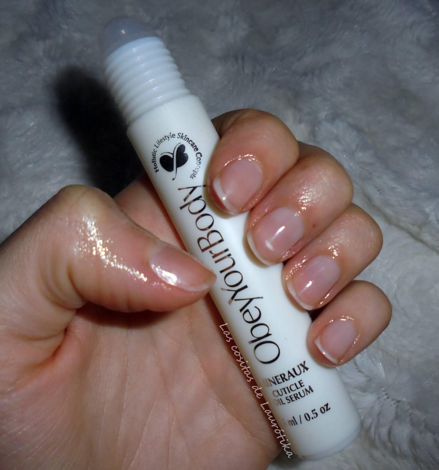 Las cositas de Laurótika: Obey Your Body - Kit de uñas