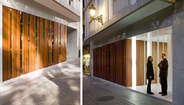 Revestimientos de madera en exterior espacios en madera - Revestimientos de fachadas ...